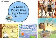 Diverse Books for Kids / Recommendations about great diverse books for kids, especially geared towards upper elementary school.