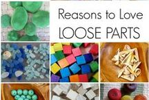 CCPRE Loose Parts / Building and Creating with Loose Parts