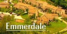 Emmerdale / Emmerdale (known as Emmerdale Farm until 1989) is a British soap opera set in Emmerdale (known as Beckindale until 1994), a fictional village in the Yorkshire Dales. Created by Kevin Laffan, Emmerdale Farm was first broadcast on 16 October 1972. Produced by ITV Yorkshire, it has been filmed at their Leeds studio since its inception. The programme has been broadcast in every ITV region.