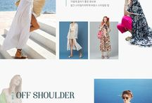 Apparel / Fashion Web / Website / EC / Newsletter Design