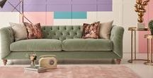 Spring '18 Trend: Sweet Inspiration / Sweeten your home this spring, with pastel shades of violet, mint, and sugar pink to get those interior taste buds tingling!