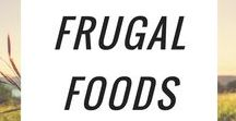 Frugal Foods / Healthy, delicious meals on a budget. Tried and true, from scratch recipes for a busy homestead.  Pinners: Please no more than 3 of your own pins per day, and please pin from this board as well. Thank you!