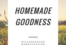 Homemade Goodness / DIY and crafts for homesteading, housekeeping, nesting, making our homes beautiful.