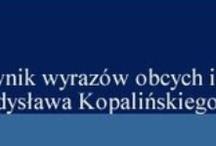 Słowniki / by Szkoła Podstawowa nr 3 w Krośnie