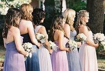 Bridesmaids / Bridesmaid dress inspiration