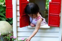 Projet weekend / Little tikes playhouse makeover