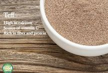 Tiny, Mighty Teff / Learn how to cook with teff to create a nutritious meal!  / by Best Food Facts