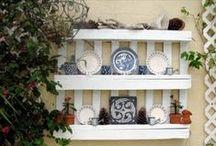 Pallet Shelves / DIY Wooden Pallet Shelves with pallet storage racks, pwood pallet bookshelves for home.