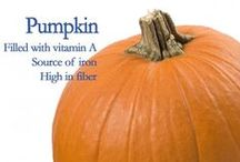 Powerful Pumpkin / Think twice about leaving a little pumpkin in your pantry to whip out a tasty and nutritious dish all year around!  / by Best Food Facts