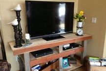 Pallets Tv Stand / Amazing diy pallet tV stand plans and pallet tv stand ideas for home.