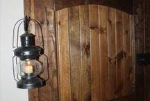 Pallet Doors / Recycled wood home pallet doors design ideas.