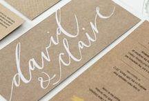 paper + typography = love