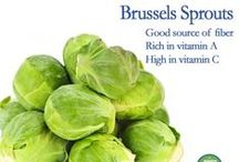 Brilliant Brussels Sprouts / Delicious ways to incorporate brussels sprouts into your diet. / by Best Food Facts