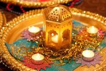 Inspiration Noel Indien / Indian Christmas Inspiration / Quelques idées de déco, de recette et d'ambiance indiennes pour les fêtes de Noel !
