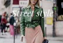 FASHION : Street style / Street style has become just as major as the runway shows themselves. Check out these street style pictures for fashion inspiration!!!! //Idées mode pour un look tendance le street style est devenu aussi populaire que les catwalk!!