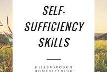 Self-Sufficiency Skills / Old-timey skills used by the pioneers. When the grocery store was in your backyard, and banks (or amazon prime!) didn't exist, these skills were common place.