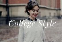 College Style, fashion, life & food