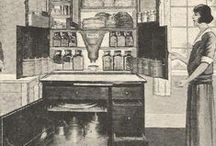 1920's house interiors / Ideas for furnishing a period dolls house