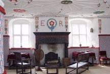 Tudor house interiors / Inspiration for furnishing and authentic period dolls house