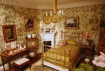 Edwardian dolls house / Inspiration for a 1:12th scale house