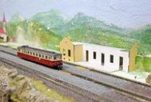 Modelová kolejiště / Vše kolem modelového kolejiště, mašinky, vagónky, koleje a příslušenství, modelářství