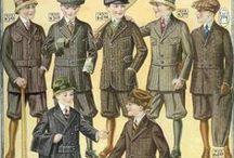 Móda děti / dětská móda v secesi