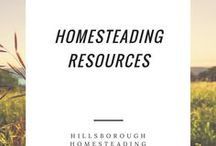 Homesteading Resources / Resources for homesteading education.