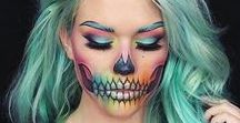 HALLOWEEN / Halloween make up, decorations etc.