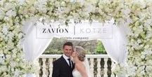 White Flower Arch Luxury Wedding / How blessed we were to be given the opportunity to be part of this incredible wedding for our friends: Kelly and Travis. Their wedding was as beautiful as the love they share. We wish you both a lifetime of happiness.  Flowers and Decor: Zavion Kotze Events Company  Photographer: Laura Leigh Photography Make-up: Make-up by Michelle Hair: By Liz at Style Cafe Hair Design Videographer: Mighty Fine