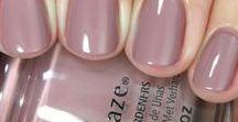 Nails / Nail polish color swatches
