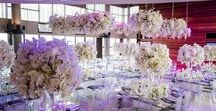Orchid Explosion / Massive hanging arrangements. Hanging flowers, huge suspended arrangements. Hanging orchids, orchid, orchids, mass arrangements. White wedding flowers   Photographer: Alexander Smith
