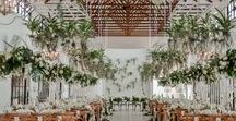 White and Green Orchids Wedding / Zavion Kotze Events Company, Orchid, Green, White, Hanging Orchids, international wedding florist, South Africa's top wedding planner and Florist   Photographer: RDK Photography