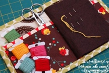 Sewing Helpers: pincushions, sewing kits, etc