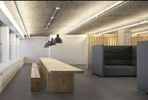interieur / sober en strak lijnenspel met een hang naar minimalisme