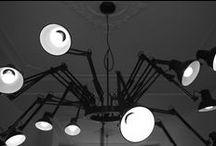 verlichting / passende lampen in een minimalistisch interieur of in een sober, strak exterieur
