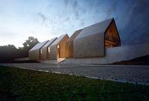 HUIS - architectuur / de ultieme vorm van een huis is ook terug te vinden in allerlei minimalistische architectuur.