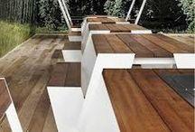 exterieur / design voor buiten, moderne en minimalistische tuinmeubels
