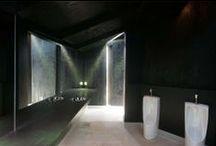 badkamer / minimalistisch met comfort en wellness