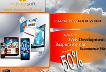 Incisive WEB / We as a website design company develop web applications based on wide variety of web platforms like PHP, ASP.net, and JAVA etc. We also support both LAMP and WINDOWS environments to create scalable enterprise web applications. Our web development services covering following areas; Corporate Websites Enterprise Web Solutions CMS – Content Management Systems E-Commerce Portals Facebook Applications