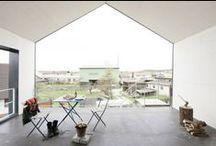 HUIS - interieur / ook in het interieur zie je vaak de ultieme vorm van het HUIS terug