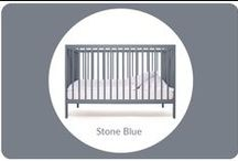 moKee Stone Blue nursery