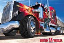 Ťahače a kamiony- Truck