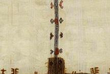 Textile / Tissus - Motifs textiles ethniques - Tapis - Kilims - Tapisseries
