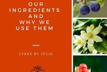 LYKKE BY JULIE - Our Ingredients! / Learning all about our pure, all-natural ingredients from Norwegian nature!