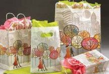 Gift Packaging Collections / Colorful, coordinated theme packaging ideas. Matched packaging.