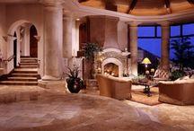 Dream homes.....A girl can dream / Home furnishings I love with a dusting of chic n shabby feel / by Nandi Shakira