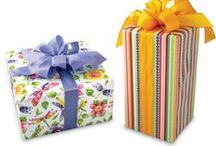 Ribbons & Bows / Accessorize with colorful ribbons and bows to complete your gift packaging!