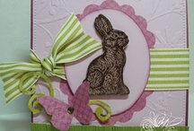 Card Making Easter Spring / Spring Easter card making ideas / by Mary Hale 4