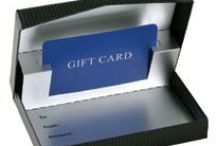 Gift Card Packaging / Add elegance to the always-popular Gift Card: the perfect gift for any occasion!