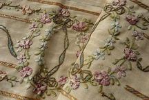 Ribbon, lace ,embroidery and fabric . / Little treasures ... / by Magda Breuls